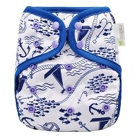 OsoCozy One Size Diaper Cover Maritime