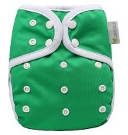 OsoCozy One Size Diaper Cover Green