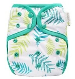 OsoCozy One Size Diaper Cover Ferns