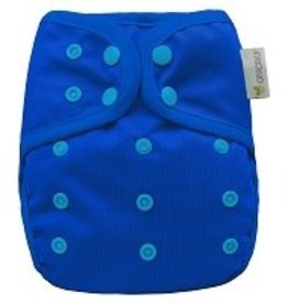 OsoCozy One Size Diaper Cover Blue Berry