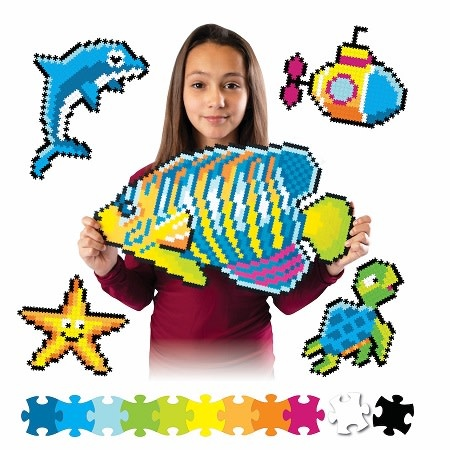 Fat Brain Toy Co Jixelz Under the Sea 1500pc