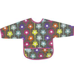 Kushies Baby Kushies Sleeved Clean Bib Daisies 12-24m