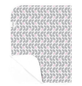 Kushies Baby Kushies Changing Pad Flannel Petal Grey & Pink