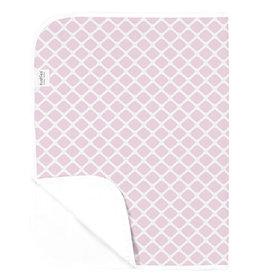 Kushies Baby Kushies Changing Pad Flannel Lattice Pink