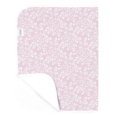 Kushies Baby Kushies Changing Pad Flannel Berries Pink