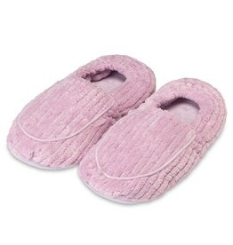 Warmies Warmies - Spa Therapy Slippers - Deep Lavender
