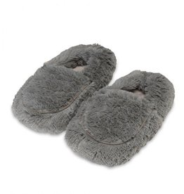 Warmies Warmies - Spa Therapy Slippers - Grey