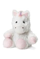 Warmies Warmies Cozy Plush Unicorn White Junior