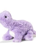 Warmies Warmies Cozy Plush Purple Dinosaur Full Size