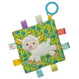 Taggies Taggies Crinkle Me Toy Sherbet Lamb