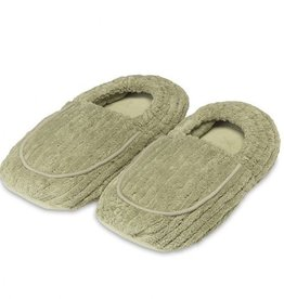 Warmies Warmies Spa Therapy Slippers Green