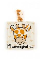 Jellycat Jellycat - If I Were a Giraffe Tail Book