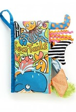 Jellycat Sea Tails Soft Activity Book