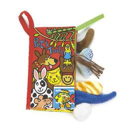 Jellycat Pet Tails Soft Activity Book