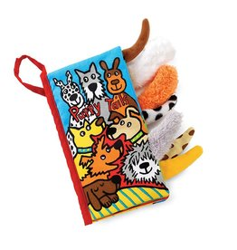 Jellycat Puppy Tails Soft Activity Book