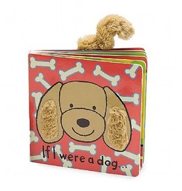 Jellycat If I Were a Dog(toffee) Tail Book