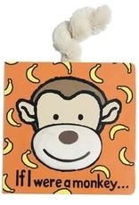 Jellycat Jellycat - If I Were a Monkey Tail Book
