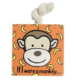 Jellycat Jellycat - If I Were a Monkey Tail Book