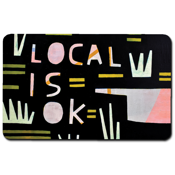 Keep It Local Card
