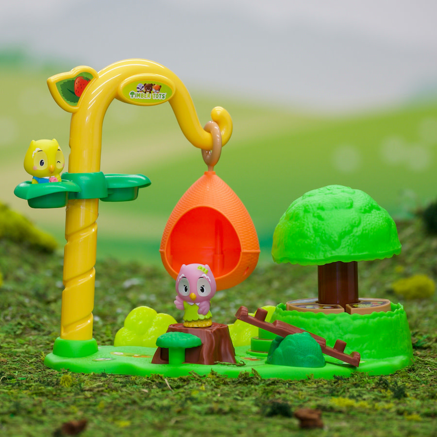 Fat Brain Toy Co Timber Tots Enchanted Park