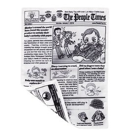 People Toy Company Crinkle Baby Newspaper