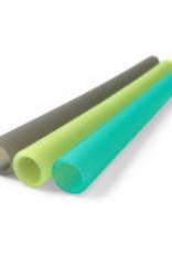 "SiliKids/GoSili Extra Wide 8.5"" Silicone Straws 3pk"