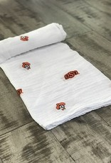 Three Little Anchors OSU Swaddle