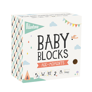 Baby Age + Moments Blocks