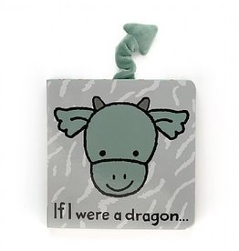 Jellycat If I Were a Dragon Tail Book