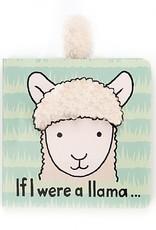 Jellycat If I Were a Llama Tail Book