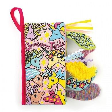 Jellycat Jellycat - Unicorn Tails Soft Activity Book