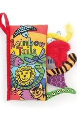 Jellycat Rainbow Tails Soft Activity Book