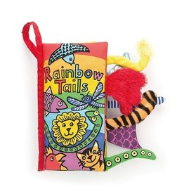 Jellycat Rainbow Tails Soft Activity Book