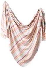 Copper Pearl Copper Pearl - Knit Swaddle Blanket - Belle
