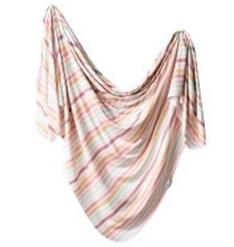 Copper Pearl Copper Pearl - Knit Swaddle Blanket - Belle