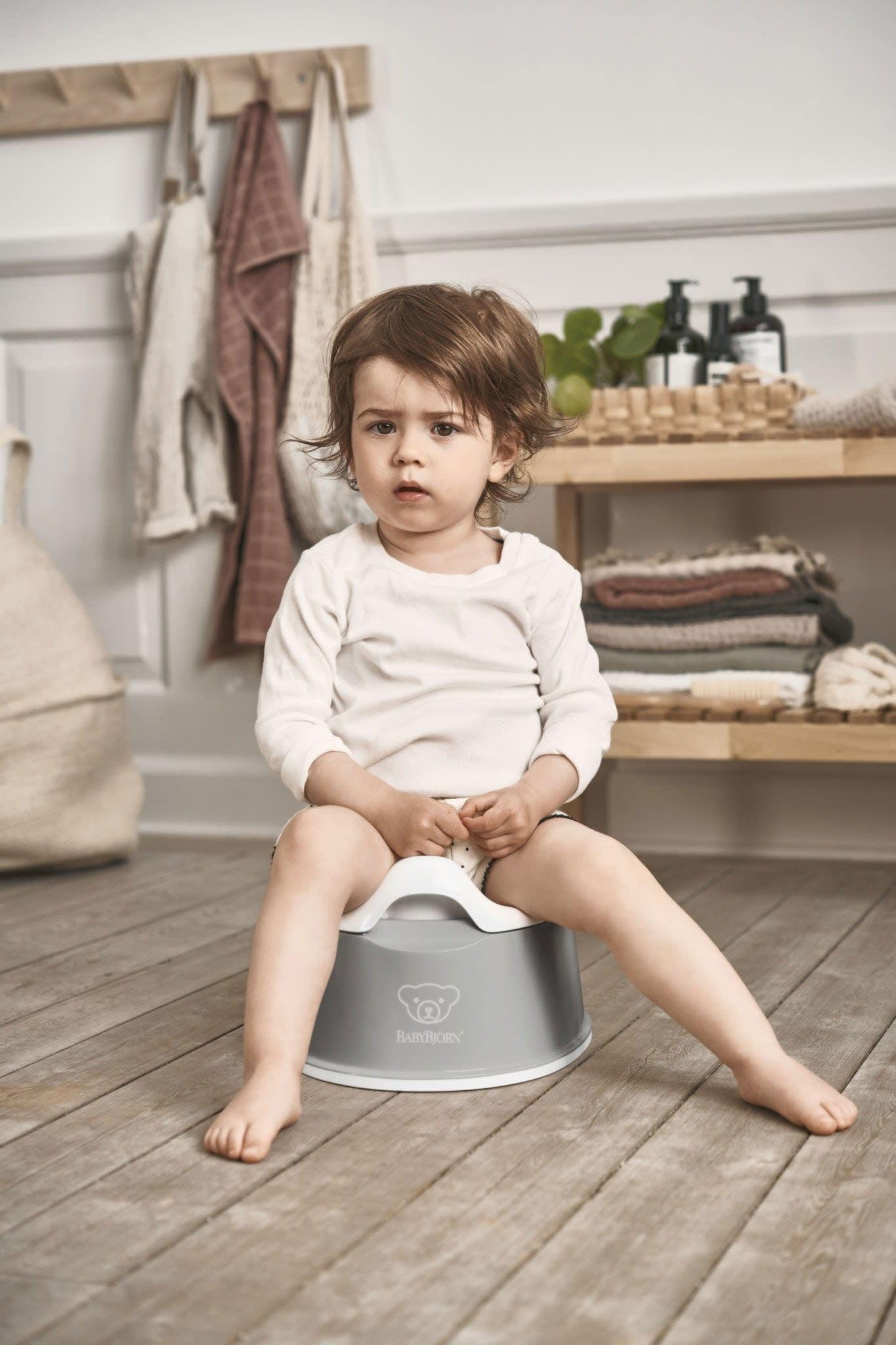 BabyBjorn BabyBjorn Smart Potty Grey/White