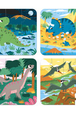 Janod Dinosaurs Graduating Puzzle
