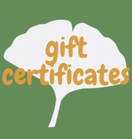 Green Bambino e-Gift Certificate