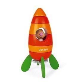 Janod Lapin Magnetic Carrot Rocket