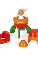 Janod Lapin Magnetic Carrot Rocket