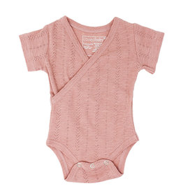 Loved Baby SS20 Pointelle Wrap Bodysuit