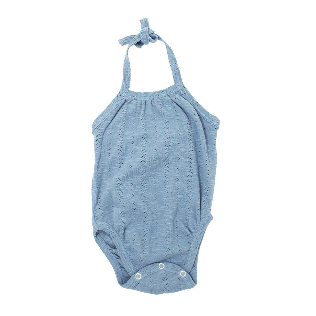 Loved Baby SS20 Pointelle Crossback Bodysuit