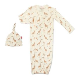 Magnetic Me Jolie Giraffe Magnetic Me Newborn Gown Set
