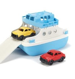 Green Toys Ferry Boat w/ Mini Cars