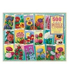 500 pc puzzle Planting a Garden