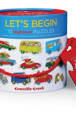 Let's Begin 2 Piece Puzzles