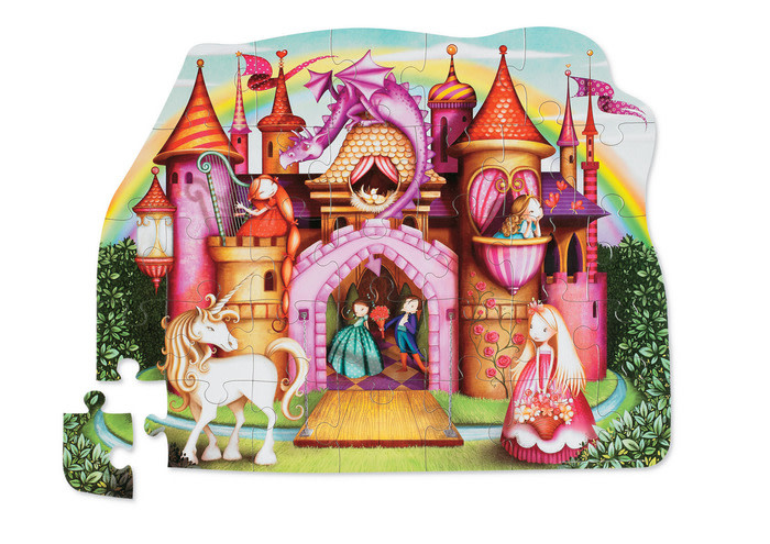 Shaped 36 Piece Puzzles