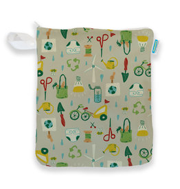 Thirsties Thirsties - Wet Bag - Green Scene
