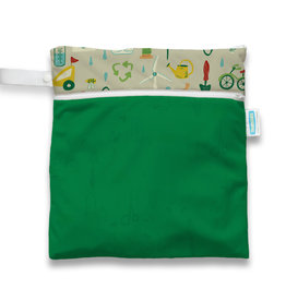 Thirsties Thirsties Wet Dry Bag Green Scene