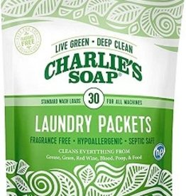 Charlie's Soap Charlie's Laundry Powder Packets